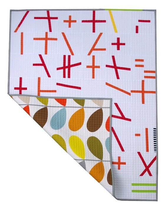 Modern and Contemporary Patchwork Quilt or Wall Hanging