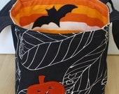 jack on black, hallowe'en bucket - TWO LEFT -
