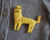 Leo. Brooch.  It is designed for the very brave people.