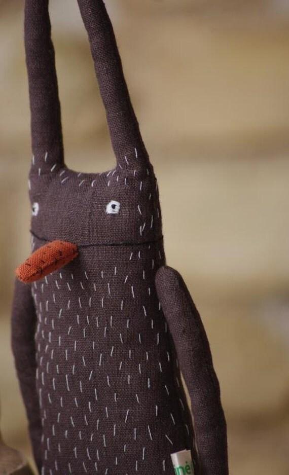 Rabbit.  A little  bit strange.
