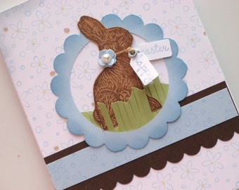 Chocolate Bunny Happy Easter Tags Stampin' Up