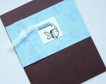 Best Wishes or is it Fishes Card Stampin Up