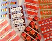Dishwasher Safe Labels - 30 labels - Free Shipping