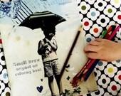 Small Draw Original Art Coloring Book