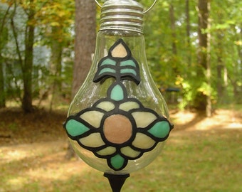 Light Bulb Hanging Vase - Polymer Clay