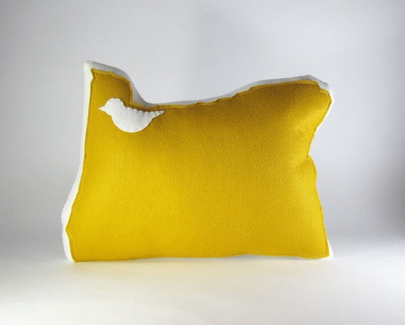 Ready Made PABOI Oregon State Pillow