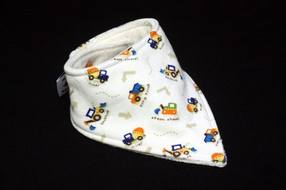 Baby Bandana Bibs by Lil Adi- lets build it - tiny bibs perfect for your littlest drooler (NB-6 mon) backed with organic BAMBOO velour.