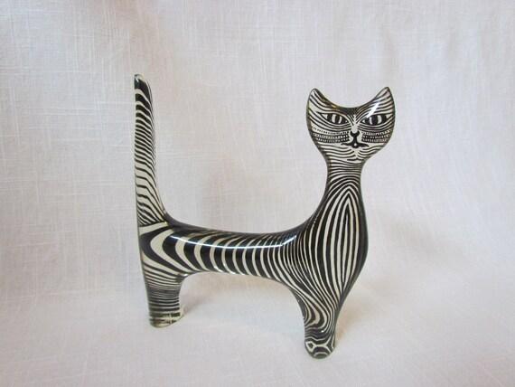 Abraham Palatnik Lucite Cat
