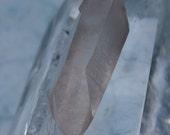 Rare Pink Lemurian Quartz point no 6