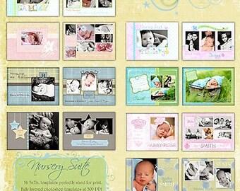 Nursery Suite Birth Announcments