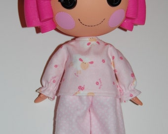 Doll Clothes for Lalaloopsy - Pink Lamb Pajamas