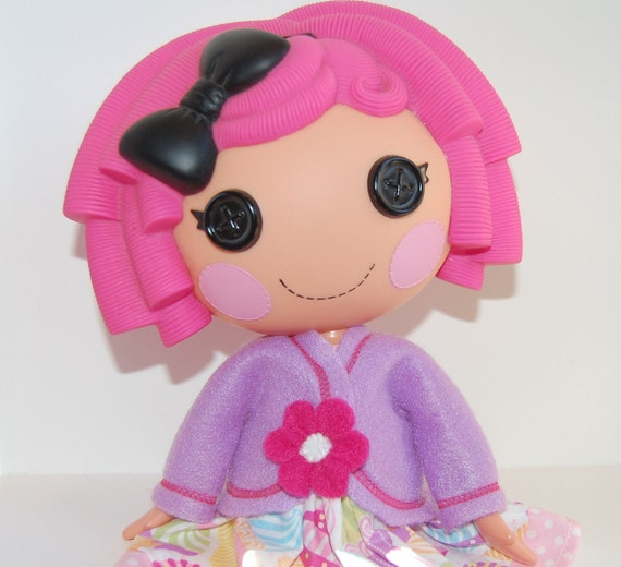 "Lalaloopsy 12"" doll clothes - Spring Jacket - Light purple - tkct065"