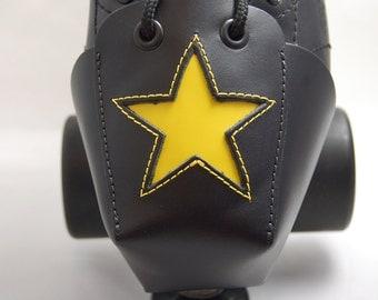 DA-45 Toe Guards with Yellow Stars