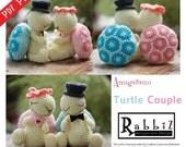 PDF Pattern - Amigurumi Turtle Couple
