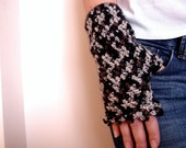Leopards Safari Fingerless Gloves