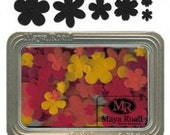 Maya Road Velvet Blossoms (Set of 96 Blossoms) in a Reusable Flat Tin