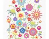 Tangle 5 x 7 - giclee art print