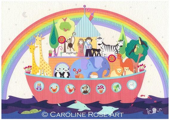 After The Rain - A4 art print - Noah's Ark