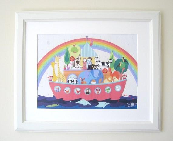 After The Rain - A3 art print - Noah's Ark