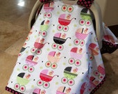 Adorable Baby Car Seat Tent Cover - Baby Dolls