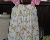 Darling Baby or Toddler Bubble Rompers - Leanika Lovebirds - Sizes 6 mo - 4T