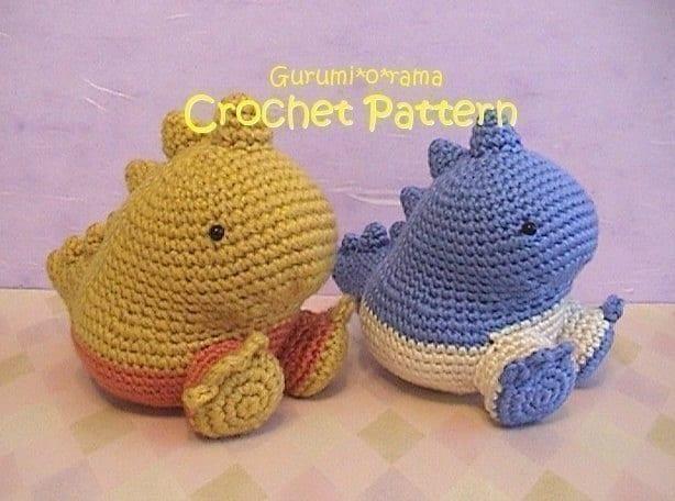 Crochet Dinosaur Free Pattern Dinosaur Pattern Crochet