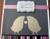 Forever and Always - Tweet Lovebirds Card