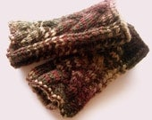 Plaited Cable Fingerless Gloves - Pattern Only PDF