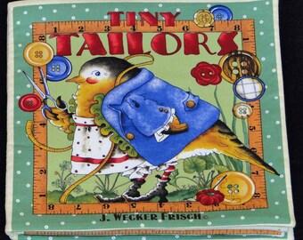 Tiny Tailors cloth book