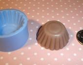 Kawaii Flexible Big Cupcake Bottom or Tart Bottom Mold 26mm For light weight clay (paper, resin, scupley III)