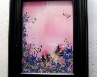 Reds Frameable Butterfly Print Instant Download