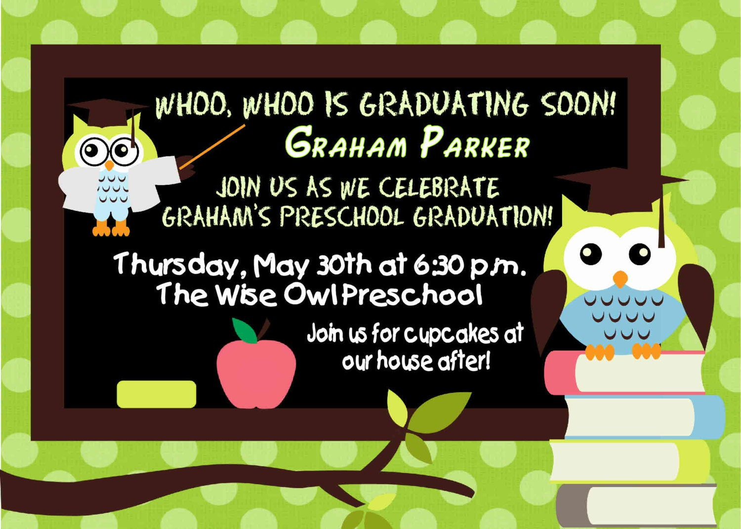 Kindergarten Graduation Invitation Wording is nice invitation example