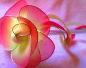 Glitter flower wand sale