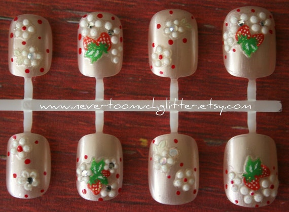 Color Changing Press On Nails- Farmer's Daughter- Fake Nails