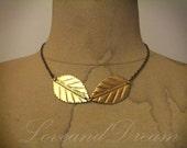 Golden Leaves Necklace