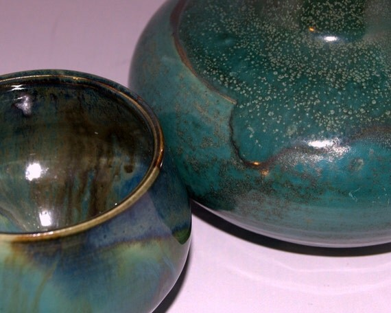 Caraffe Set Turquoise Green- Household - Kitchen
