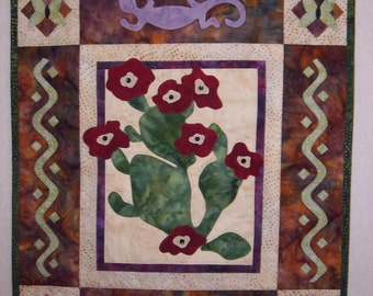 Southwest Quilted Wallhanging