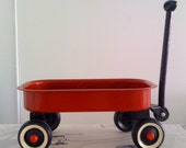vintage little red wagon