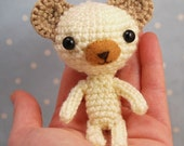 SALE - 40percent OFF  (amigurumi bear Vanilla)
