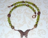 Butterfly By Day Necklace - N1119