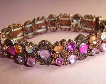 Pink Copper with Sparkle Bracelet - B1436