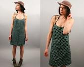 Vintage 90s Rayon Revival Mini Dress (S - M)