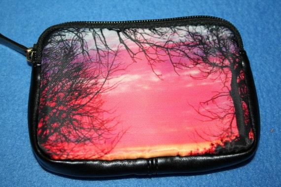 Beautiful Sunrise Coin Purse, Digital Camera Case 5.5x4 inches