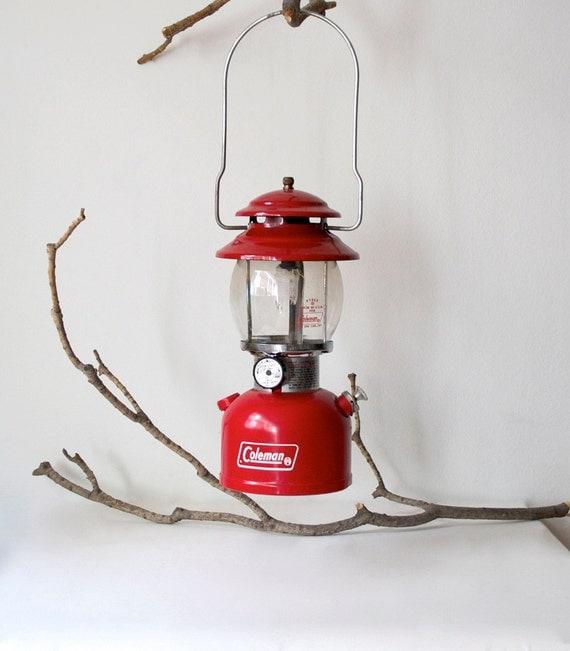 Red Coleman Lantern
