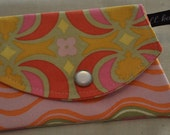 Mini Wallet in Amy Butler's Garden Maze
