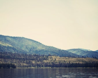 Idaho Landscape Photograph - Warm Lake