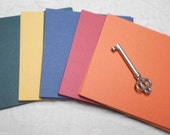 Winter Hearth Card Stock Paper Pack Assortment for Scrapbooking, Card Making or Mini Works of Art 4 x 4