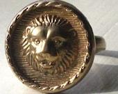 Bronze Lion Ring