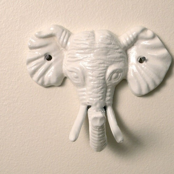 elephant wall hook