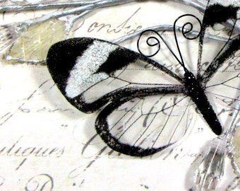 Glass Butterfly Embellishments G5